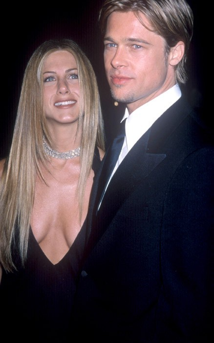 Jennifer et Brad en 2000
