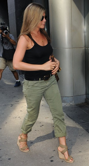 Jennifer Aniston à New York, le 20 juillet 2013.