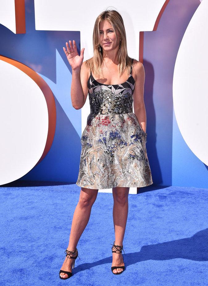 Photos : Jennifer Aniston : Radieuse et simple à l'avant-première de Storks