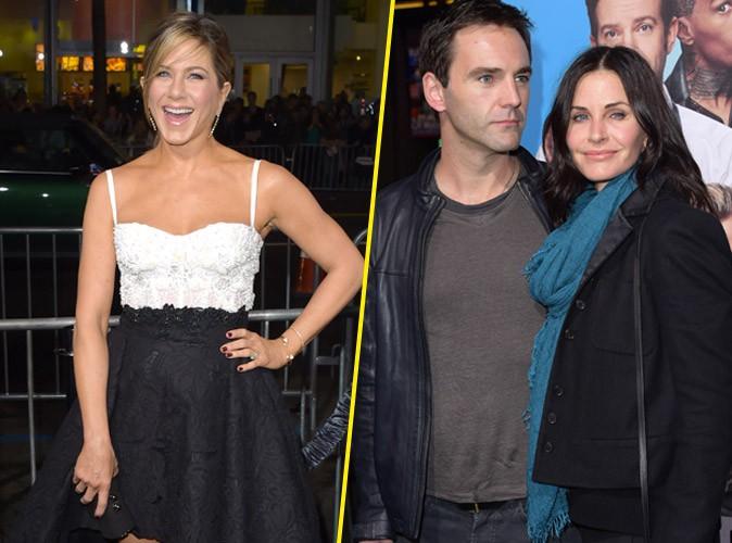 Jennifer Aniston : solo à la première de Horrible Bosses 2, elle peut compter sur Courtney Cox !
