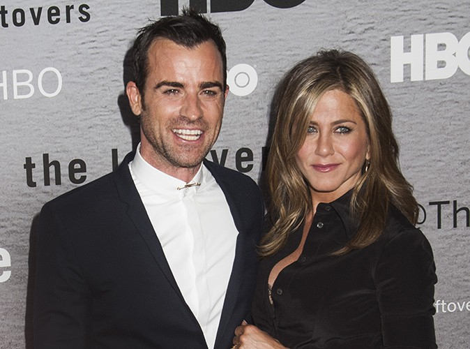 Justin Theroux et Jennifer Aniston à New York le 23 juin 2014