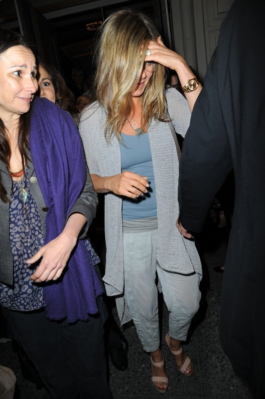 Jennifer Aniston, New York, 10 mai 2013.