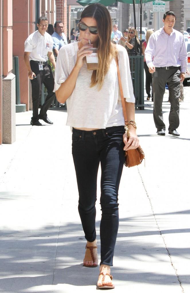 Jennifer Carpenter, Los Angeles, 15 août 2012.