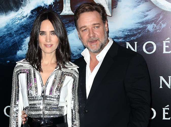 Jennifer Connelly et Russell Crowe : promo décontractée à Paris !