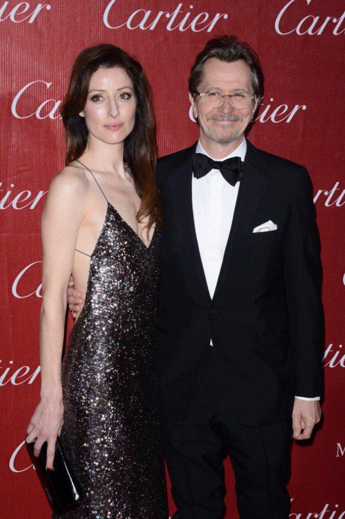 Alexandra Edenbourgh et Gary Oldman