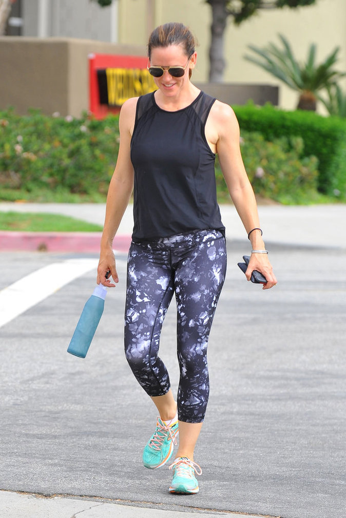 Jennifer Garner sort de la gym ce jeudi 4 août