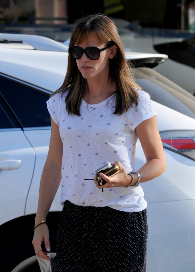 Jennifer Garner à Pacific Palisades le 22 août 2013