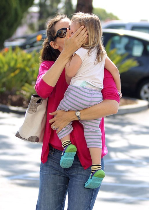 Jennifer Garner, folle de sa petite Seraphine !