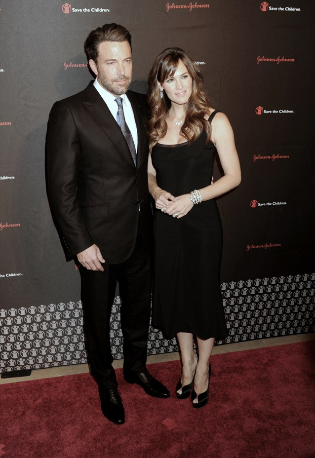 Jennifer Garner et Ben Affleck à New-York le 19 novembre 2014