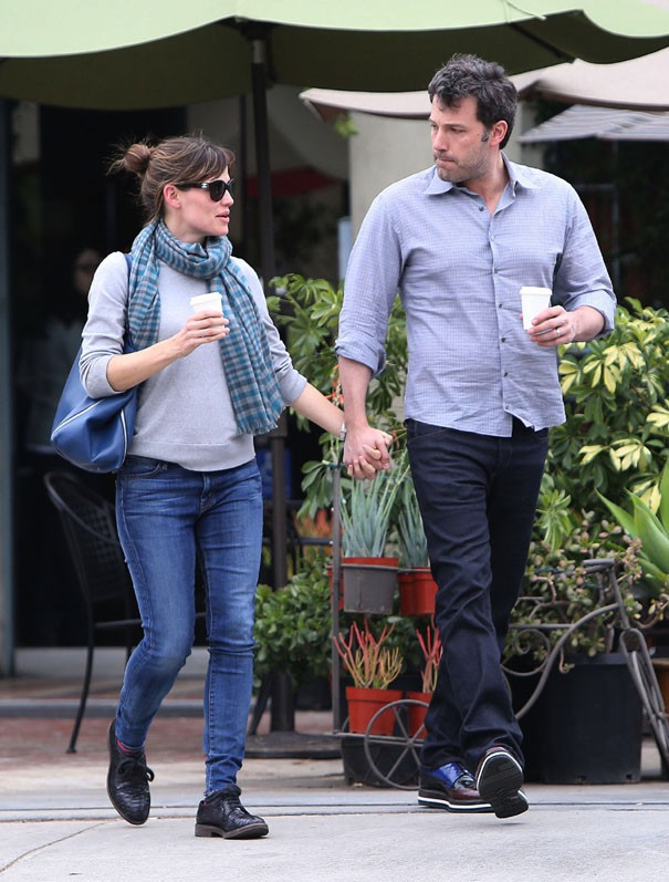 Jennifer Garner et Ben Affleck à Santa Monica le 18 février 2014