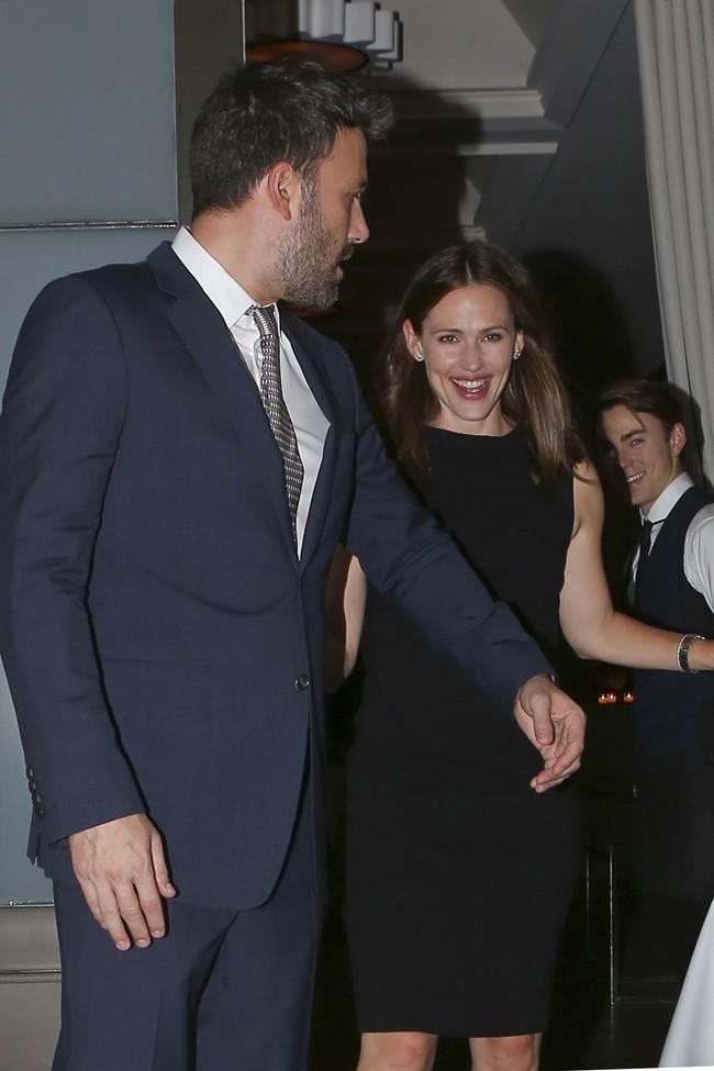 Jennifer Garner et Ben Affleck à Beverly Hills le 25 octobre 2012