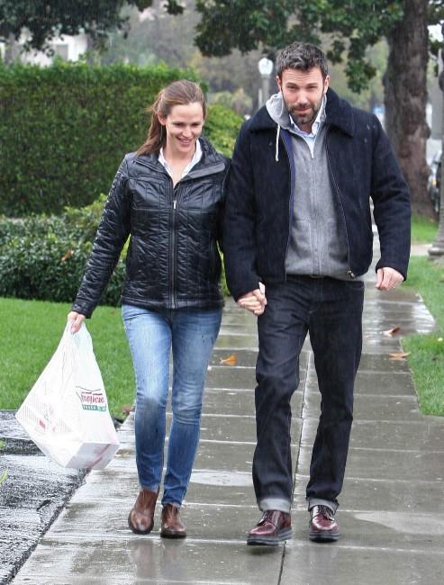 Jennifer Garner et Ben Affleck le 30 novembre 2012 à Los Angeles