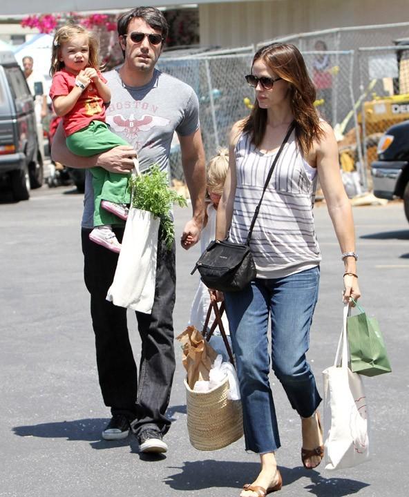 En juillet dernier, Jennifer était enceinte mais n'avait pas encore révélé l'heureuse nouvelle