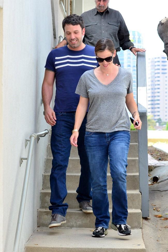 Ben Affleck et Jennifer Garner le 3 juillet 2012 à Los Angeles