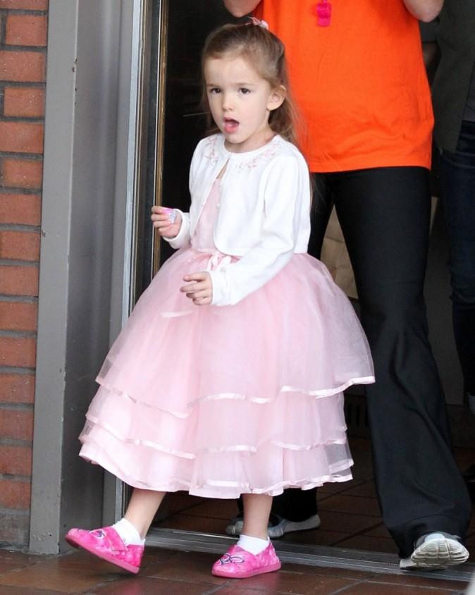 Seraphina Affleck lors de la fête de ses 4 ans à Los Angeles, le 6 janvier 2013.