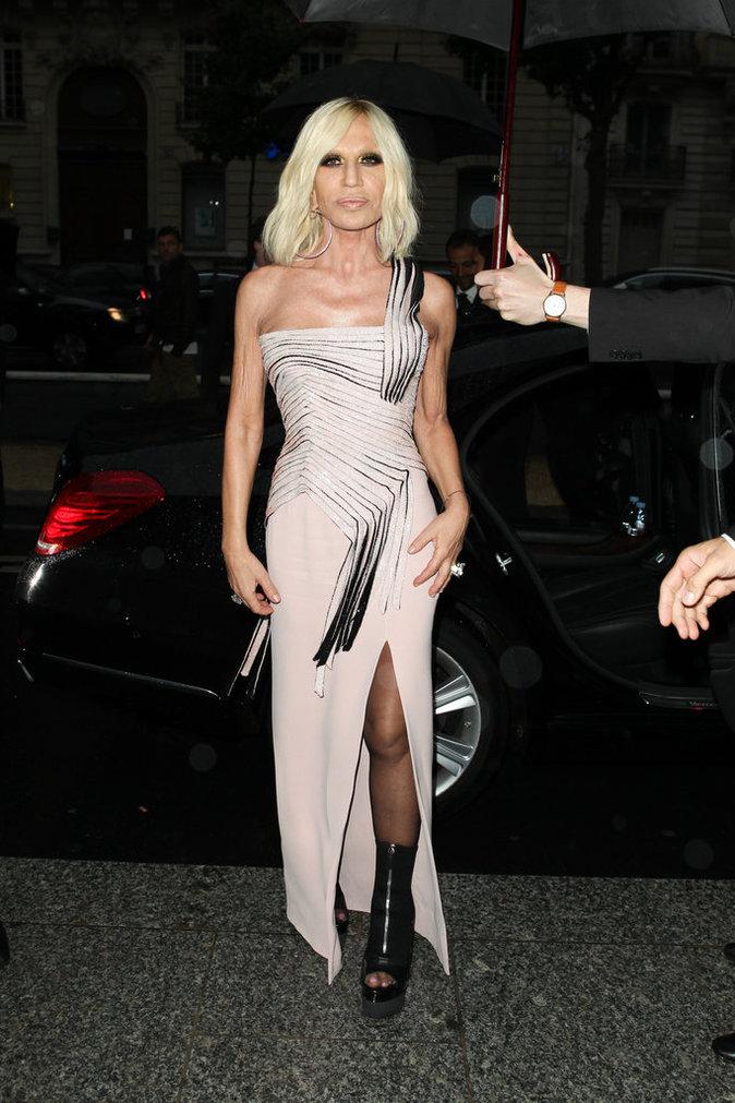 Donatella Versace, toujours aussi stylée