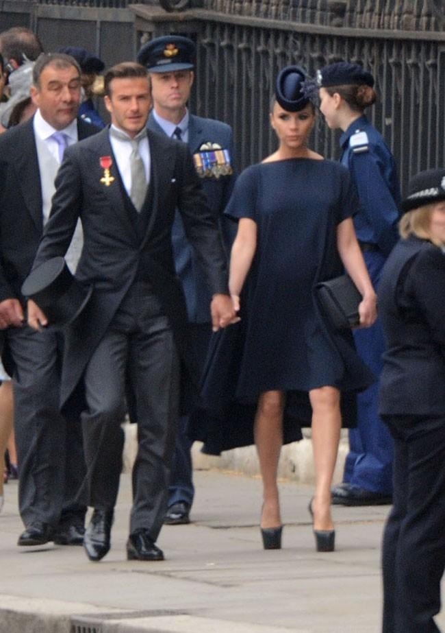 Victoria Beckham, la grossesse la plus stylée de 2011 !