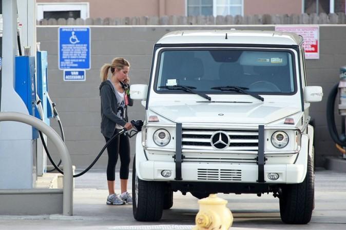 Le 4x4 petit modèle d'Ashley Tisdale