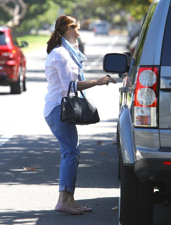 Jennifer Garner le 5 juin 2012 à Brentwood
