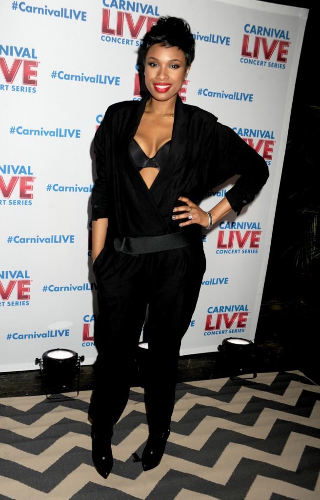 """Jennifer Hudson lors de la soirée """"Carnival Cruise Lines' Carnival Live"""" à New York, le 22 janvier 2014."""