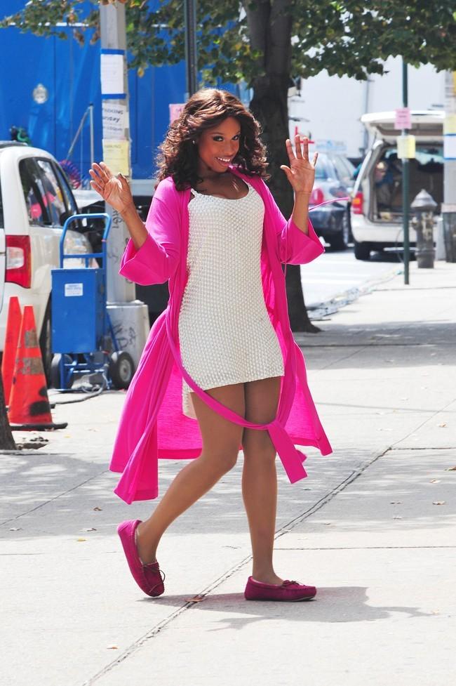 Jennifer Hudson le 21 août 2012 à New York
