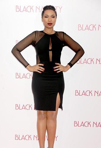 Jennifer Hudson à New-York le 18 novembre 2013