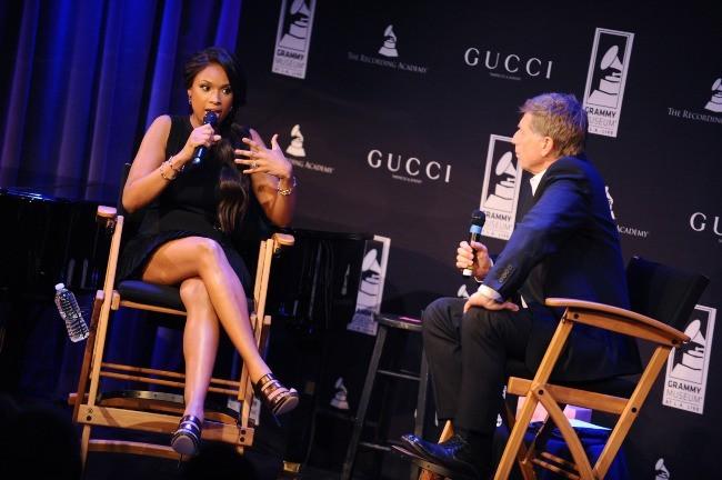 Jennifer Hudson lors du lancement de la nouvelle montre Gucci Grammy à Los Angeles, le 11 février 2012.
