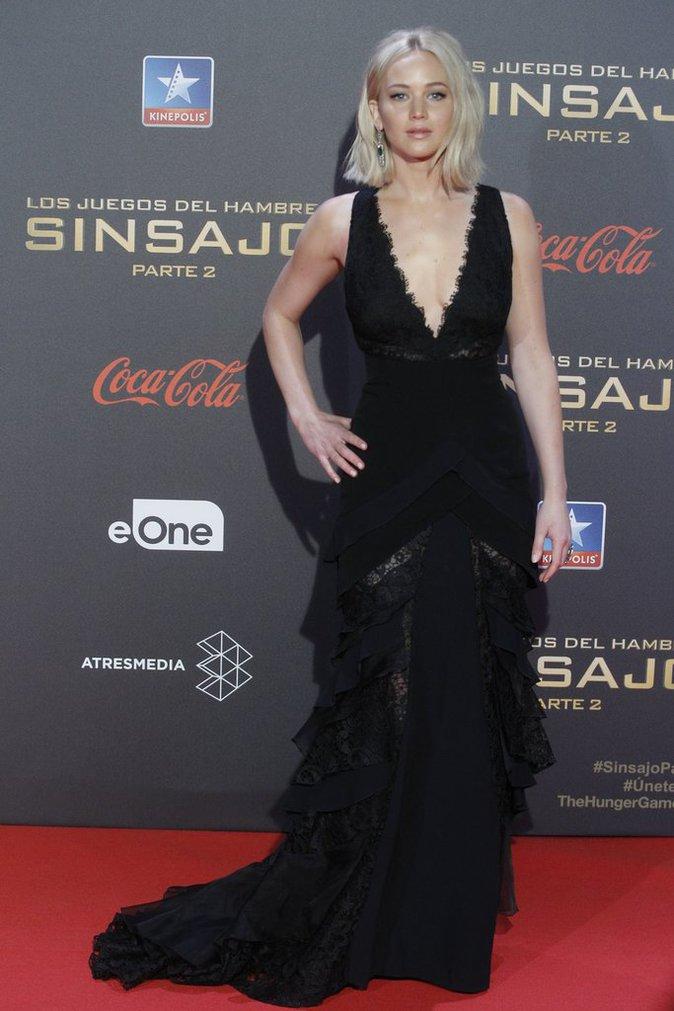 Jennifer Lawrence en promo d'Hunger Games !