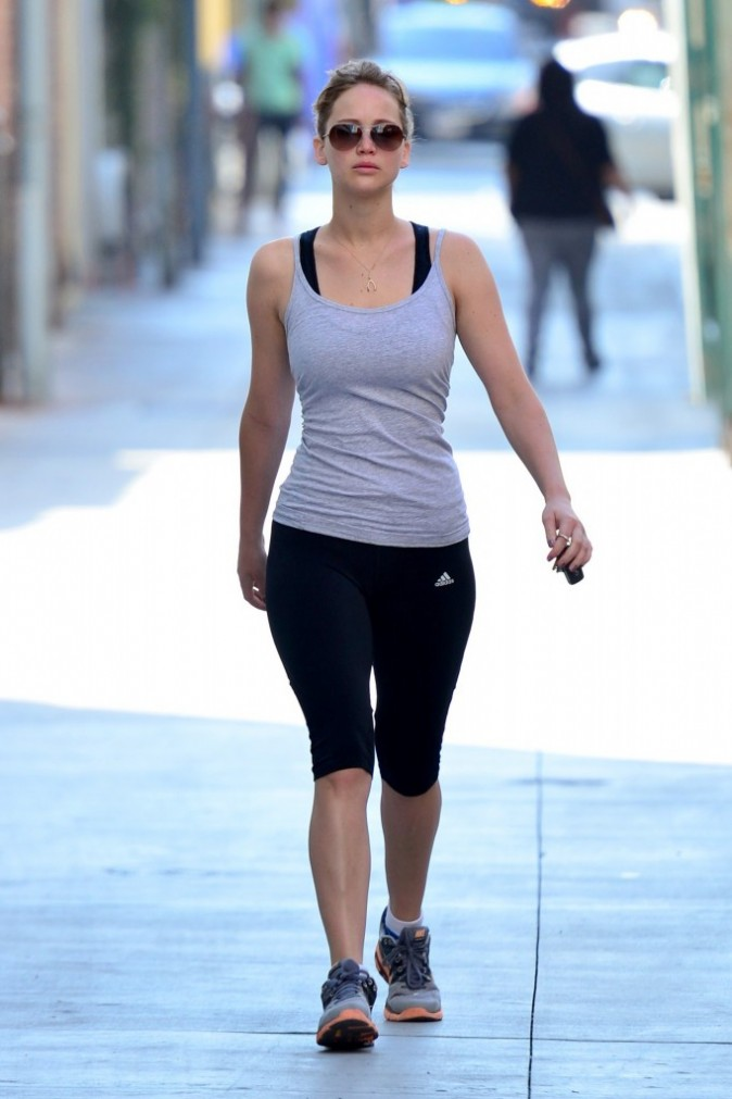 Jennifer Lawrence, Los Angeles, 13 août 2012