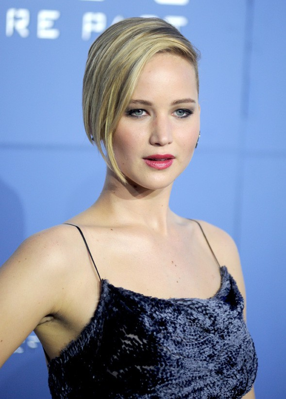 Jennifer Lawrence à l'avant-première d'X-Men : Days of Future Past organisée à New-York le 10 mai 2014