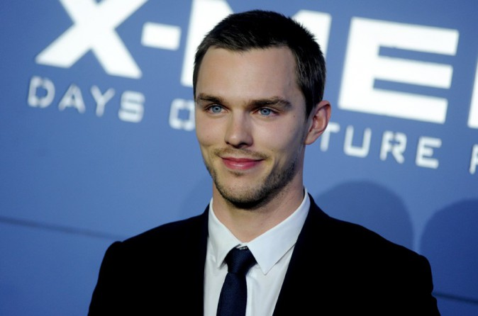 Nicholas Hoult à l'avant-première d'X-Men : Days of Future Past organisée à New-York le 10 mai 2014