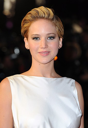 Jennifer Lawrence à Londres le 11 novembre 2013