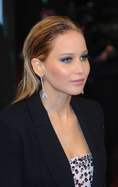 Jennifer Lawrence le 10 février 2013 à Londres