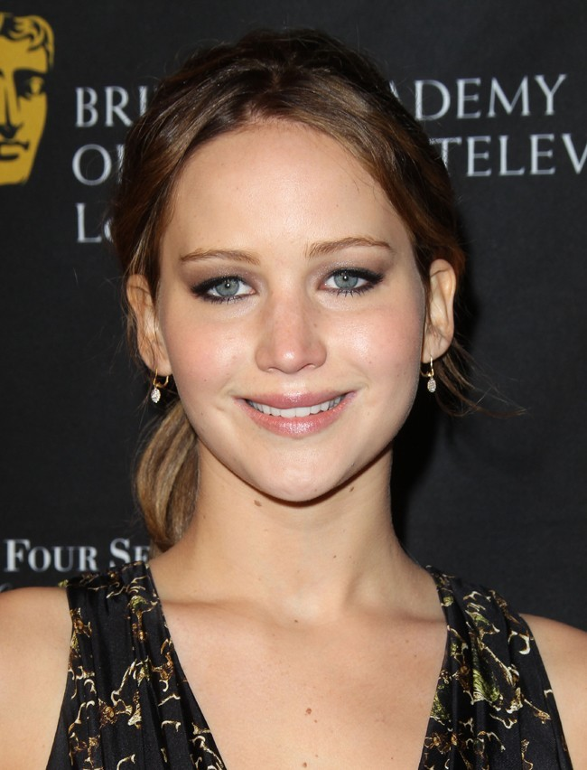 Jennifer Lawrence à la Tea Party des BAFTA à Beverly Hills le 12 janvier 2013