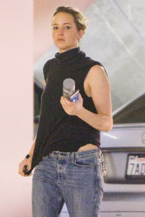 Jennifer Lawrence à Los Angeles le 27 janvier 2015