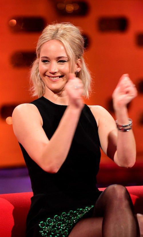 Photos : Jennifer Lawrence : son coup de gueule contre les régimes et le jour de l'an !