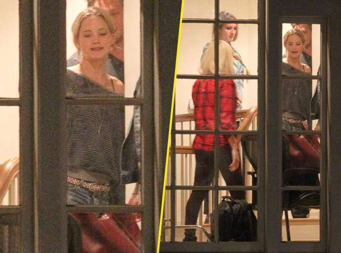 Jennifer Lawrence à Los Angeles le 25 novembre 2014