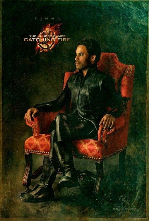 Lenny Kravitz sur l'affiche d'Hunger Games 2- L'embrasement