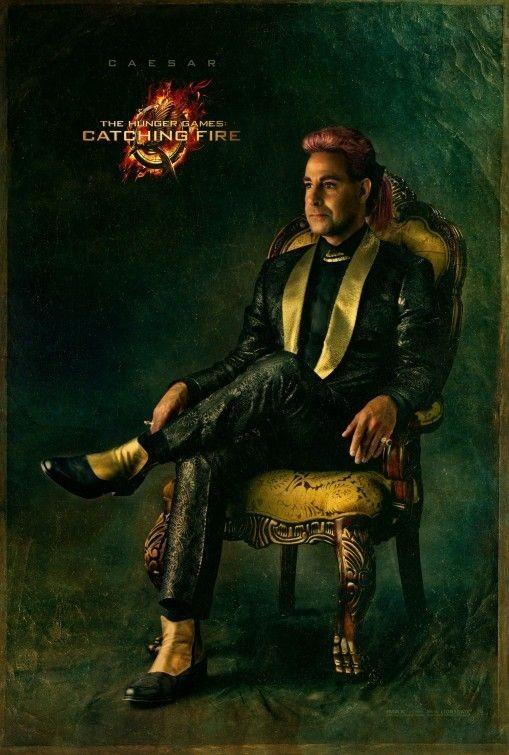 Stanley Tucci sur l'affiche d'Hunger Games 2- L'embrasement