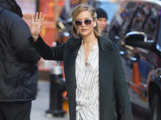 Jennifer Lawrence : toujours en plein marathon promotionnel pour Hunger Games, elle commence à s'essoufler !
