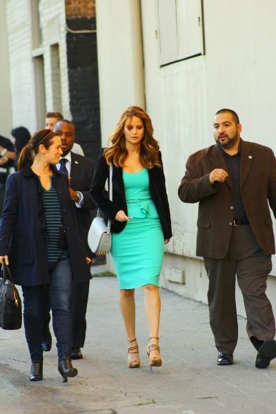 Jennifer Lawrence à Hollywood, le 31 janvier 2013.