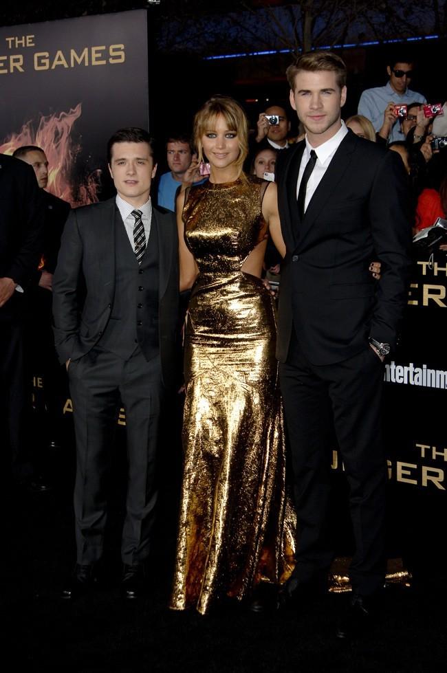 Entre Josh Hutcherson et Liam Hemsworth !