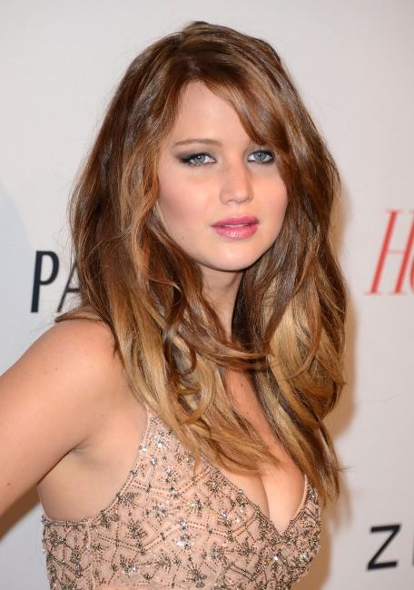 """Jennifer Lawrence lors de la soirée """"The Hollywood Reporter Nominees Night 2013"""" à Beverly Hills, le 4 février 2013."""