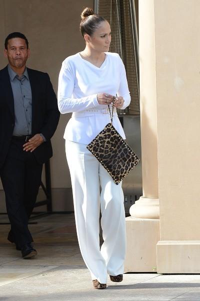 Jennifer Lopez à Beverly Hills, le 29 janvier 2013.