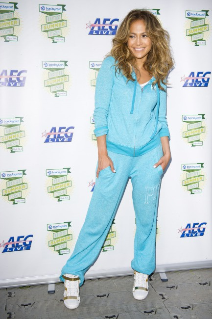 Jennifer Lopez dans les backstage du British Summer Time à Londres, le 14 juillet 2013.