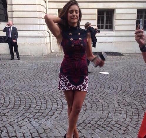 Les stars ont répondu présentes au défilé Versace à paris, le 6 juillet 2014