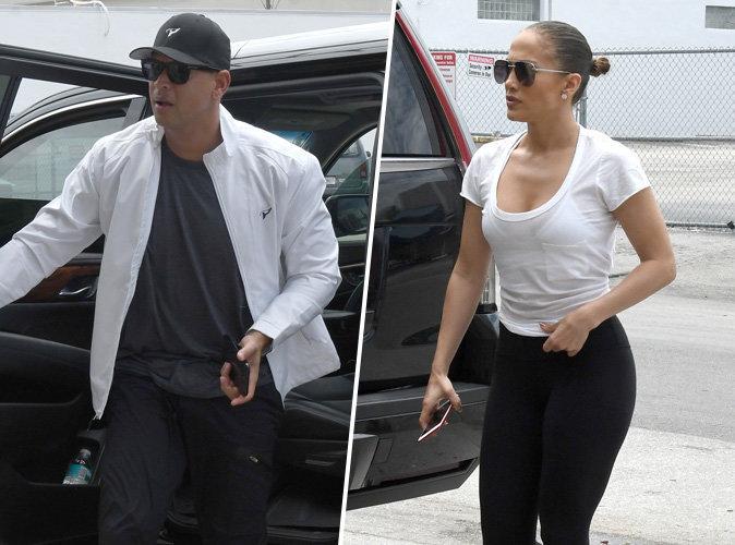 Jennifer Lopez : Elle ne lâche plus d'une semelle Alex Rodriguez