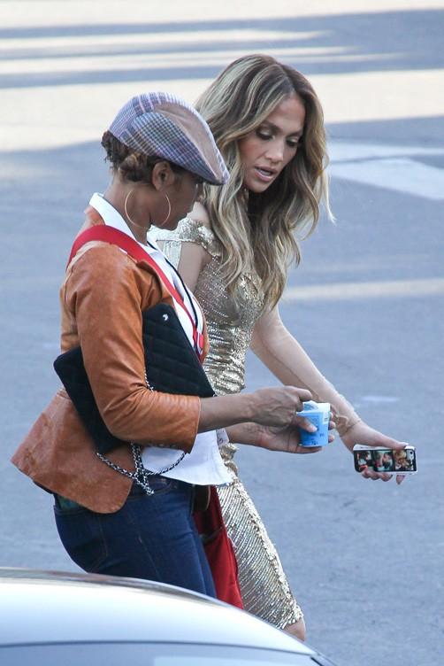 Jennifer Lopez à Los Angeles le 24 avril 2014