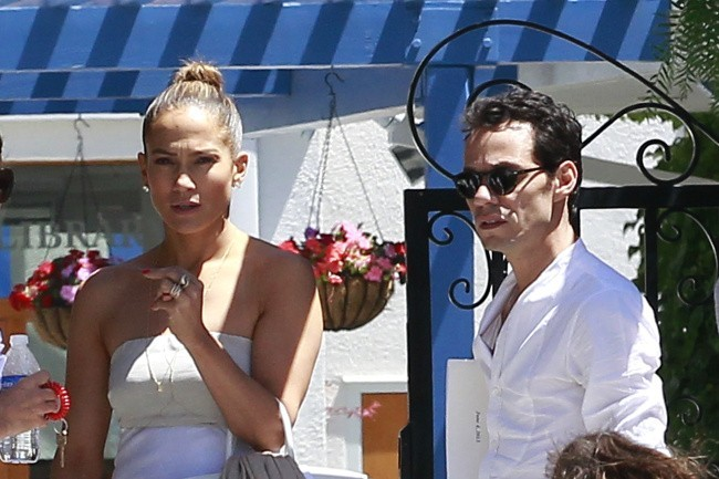 Jennifer Lopez et Marc Anthony le 19 juin 2013 à Los Angeles
