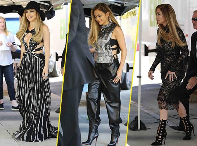 Jennifer Lopez : bomba sexy sur le tournage d'American Idol !